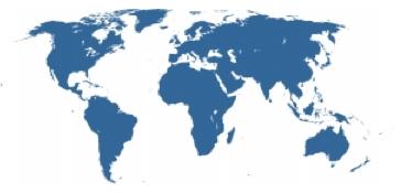 Internationally represented