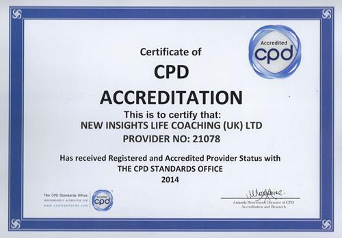 CPD certificate