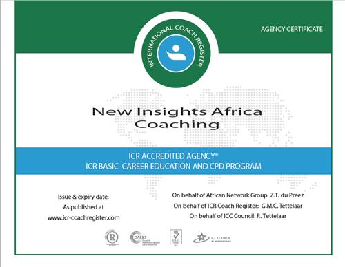 ICR certificate